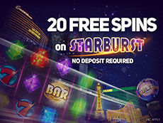 20 Free Spins on Starburst at Magical Vegas