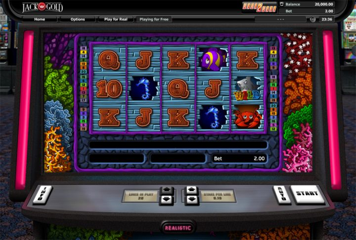 Double Bubble Slot by Realistic Games Screenshot