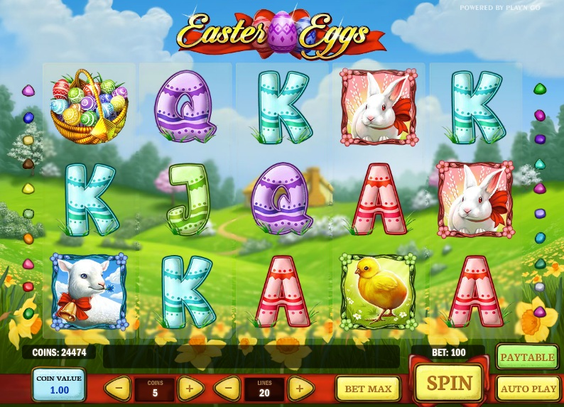Easter Eggs Slot by Play'n Go Screenshot