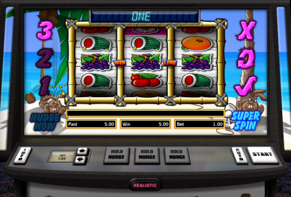 Hot Cross Bunnies Slot by Realistic Games Screenshot