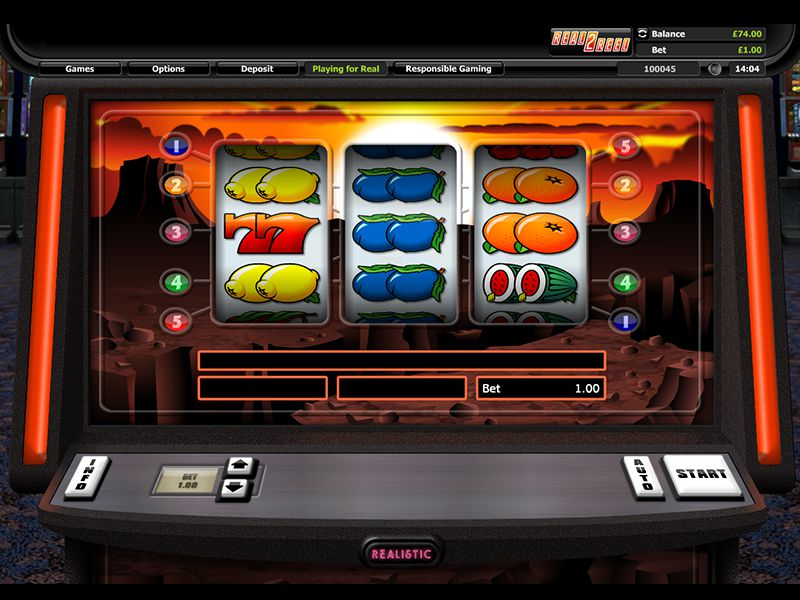 Sunset Reels Slot by Realistic Games Screenshot