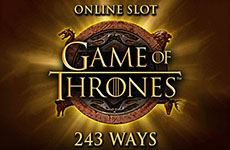 Game of Thrones - 243 ways - Slot - MicroGaming Casinos - Rizk.de