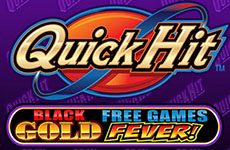Quick Hits Black Gold Free Game Fever Slot by Bally