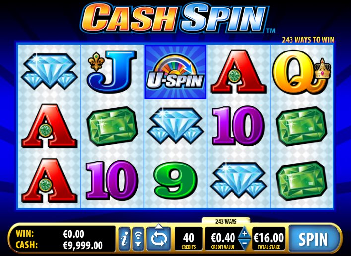 Cash Spin Slot by Bally Screenshot