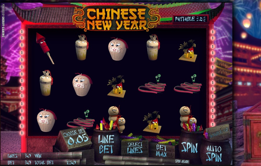 Chinese New Year Slot by Play'n Go Screenshot