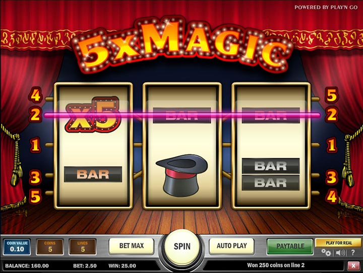 5x Magic™ Slot Machine Game to Play Free in Playn Gos Online Casinos