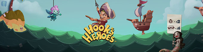 Hook's Heroes Slot by NetEnt