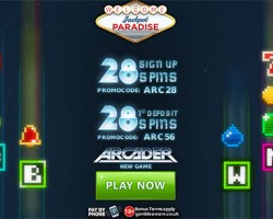 56 Free Spins on Arcader Slot at Jackpot Paradise