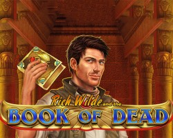 Book of Dead slot by Play n' Go now at Casumo