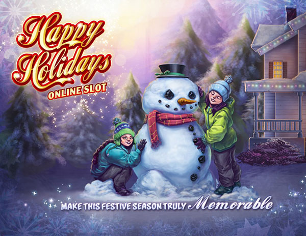 Happy Holidays Slot Review by Microgaming