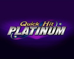Quick Hit Platinum Triple Blazing 7's Slot Review by Bally