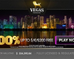 Vegas Paradise Casino Welcome Bonus