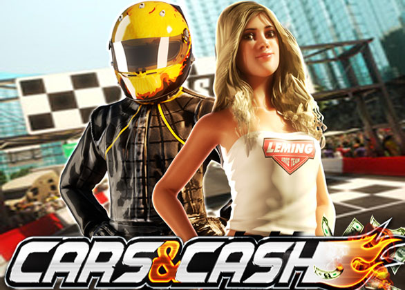 Cars & Ca$h Slot Review by Sheriff Gaming