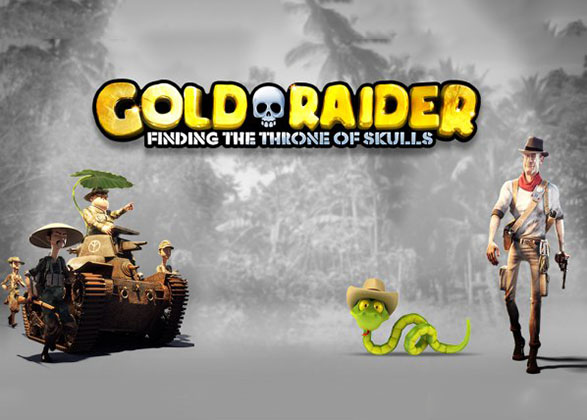 Gold Raider Slot Review by Sheriff Gaming