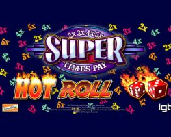 Hot Roll Super Times Pay Slot Review by IGT