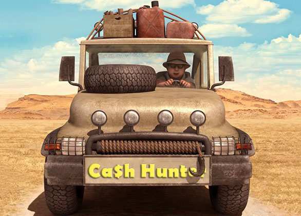 Ca$h Hunter Slot Review by Sheriff Gaming