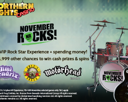 Northern Lights Casino is Rocking This Week!