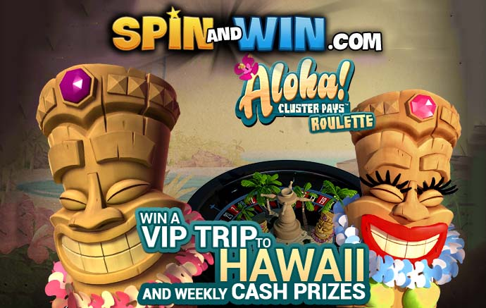 Spinandwin Aloha NetEnt Promotion